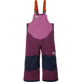 Helly Hansen Rider Insulated Bib Pants Kids, purple potion